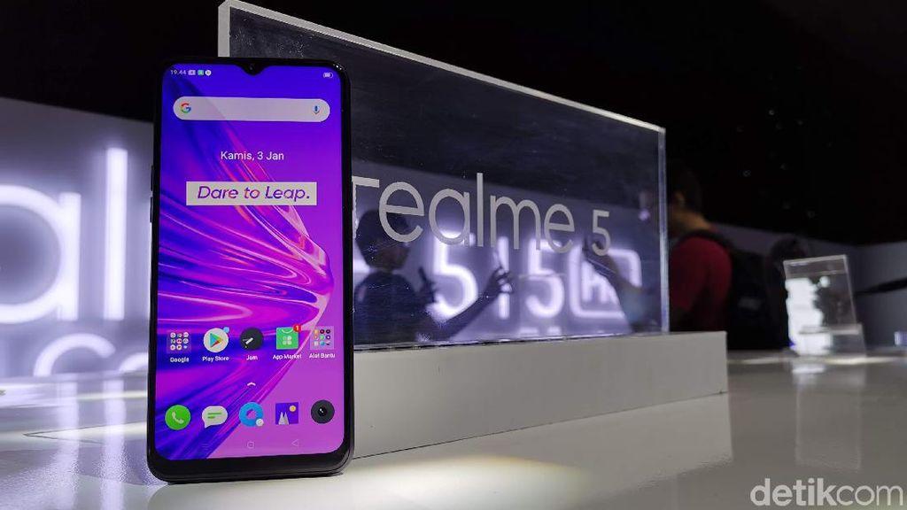 Lebih Dekat dengan Realme 5 dan 5 Pro