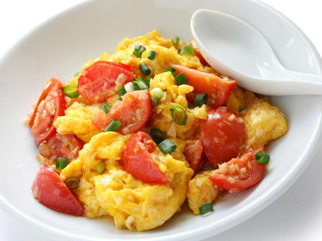 3 Resep Orak-arik Telur Sayuran yang Praktis Buat Sarapan
