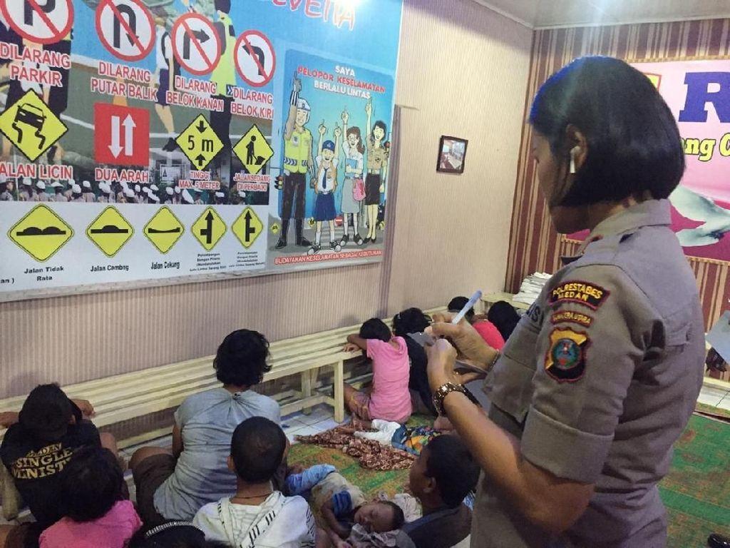 Polisi Amankan 5 Orang Terkait Dugaan Eksploitasi Anak di Medan