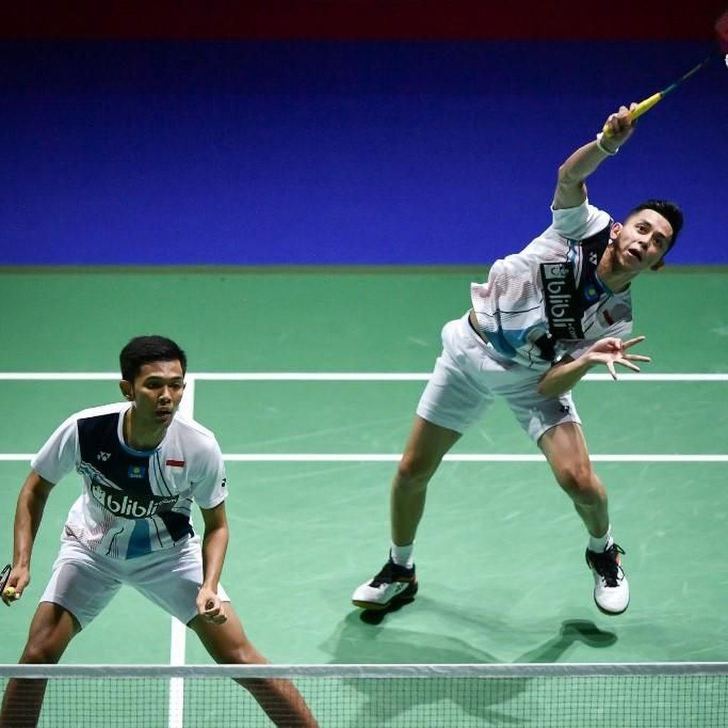 Jadwal Semifinal Korea Open 2019: Fajar/Rian Tantang Li/Liu