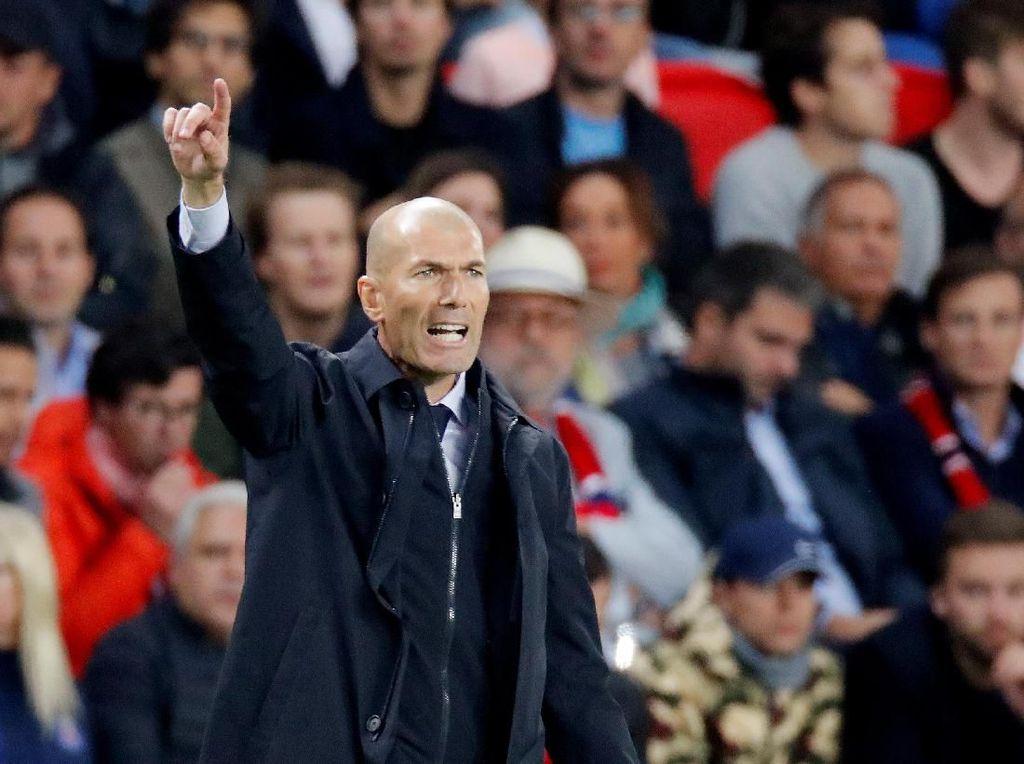 Rekor Cemerlang Zidane Tangani Real Madrid di Laga Final