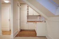 Dapur minimalis serba putih.