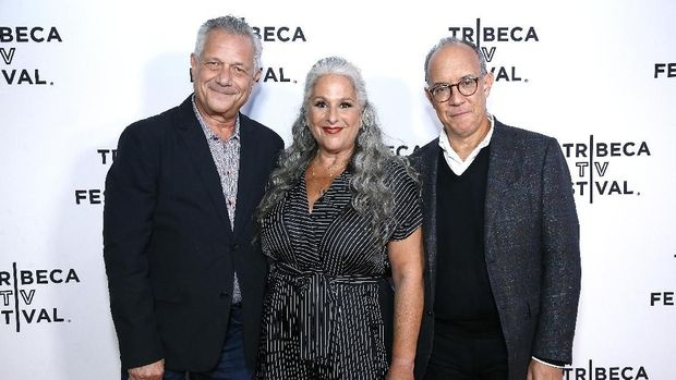 Para kreator Friends, Kevin Bright, Marta Kauffman and David Crane
