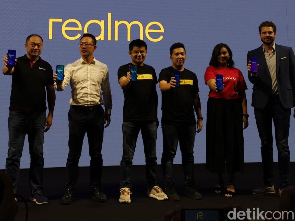 Realme Optimis Bisa Salip Xiaomi di Indonesia