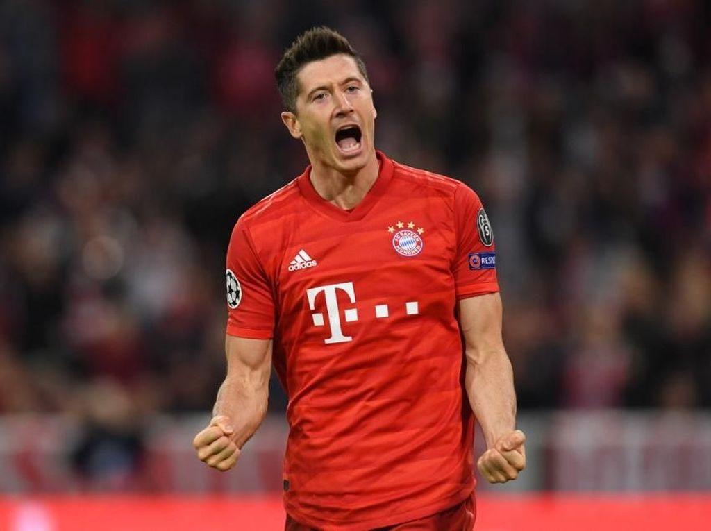 Lewandowski Sudah 200 Gol di Bayern Munich