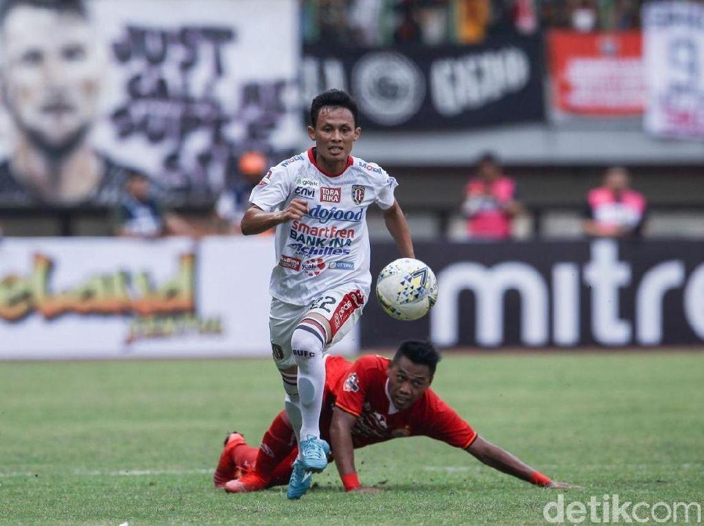 Persija Vs Bali United : Macan Kemayoran Tumbang 0-1
