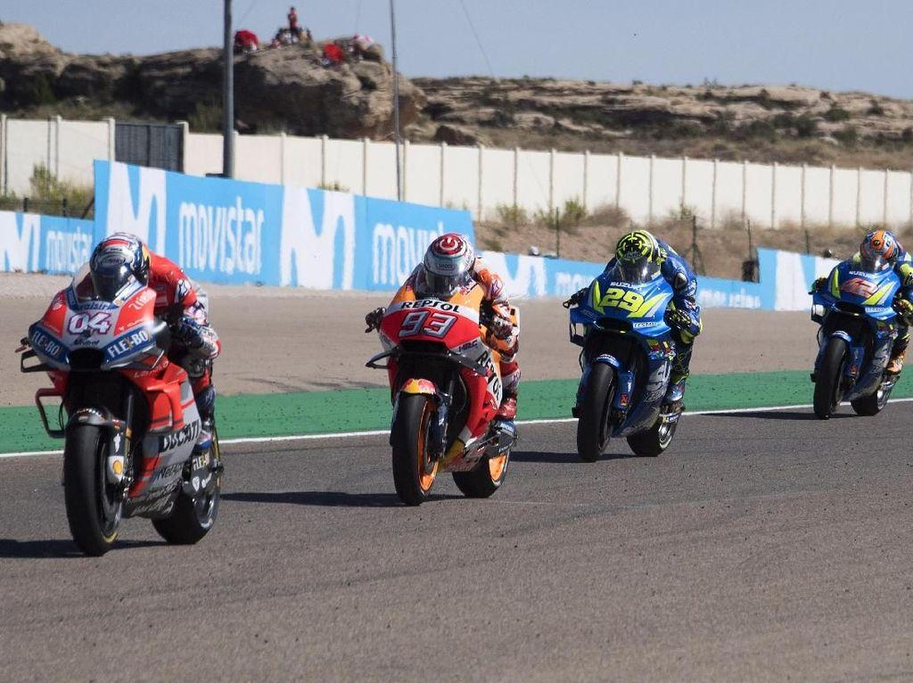 MotoGP Aragon Mungkin Dimajukan demi Seri Thailand