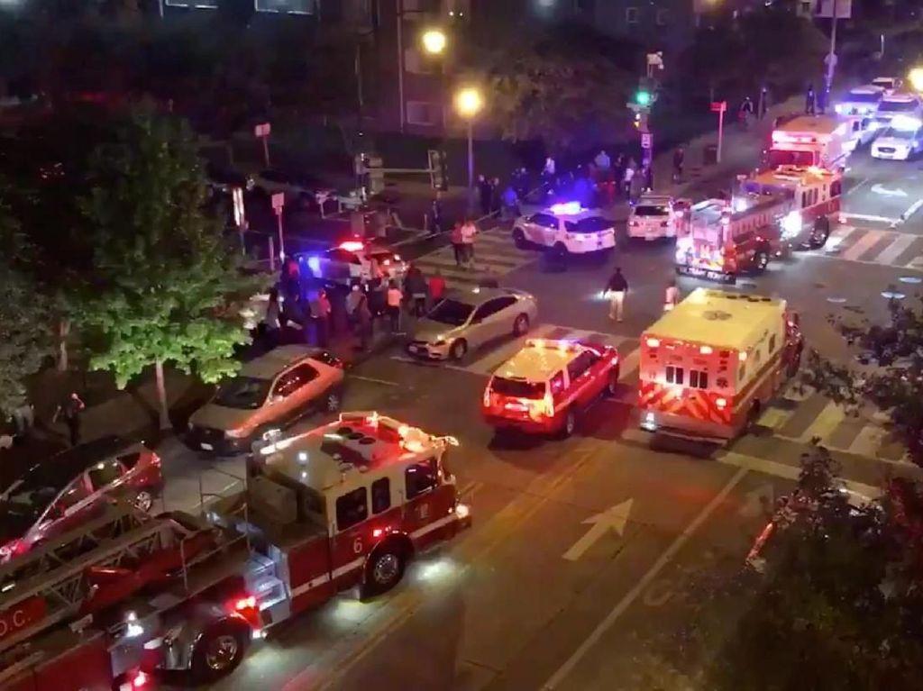 Penembakan di Jalanan Washington DC Tewaskan 1 Orang, 2 Tersangka Diburu