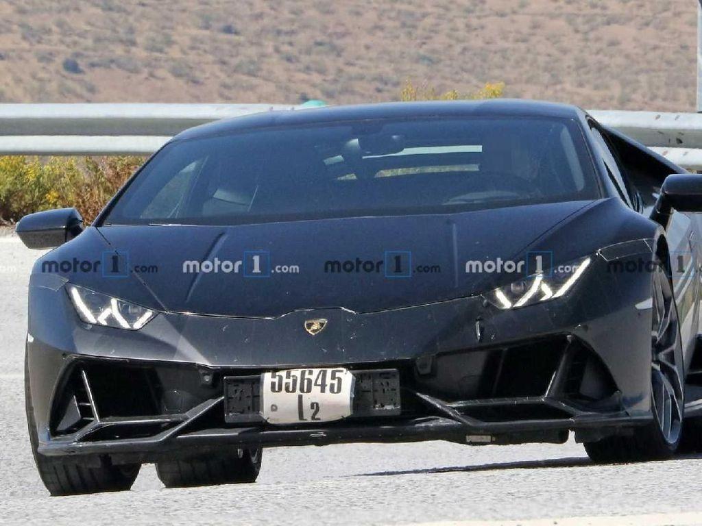 Spyshot! Lamborghini Huracan Evo Mulai Tampil di Jalanan