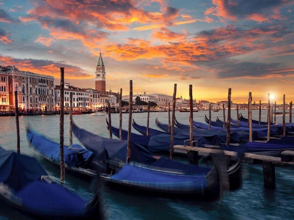 Lebih Indah Saat Corona, Venesia Akan Batasi Turis di Masa Depan?
