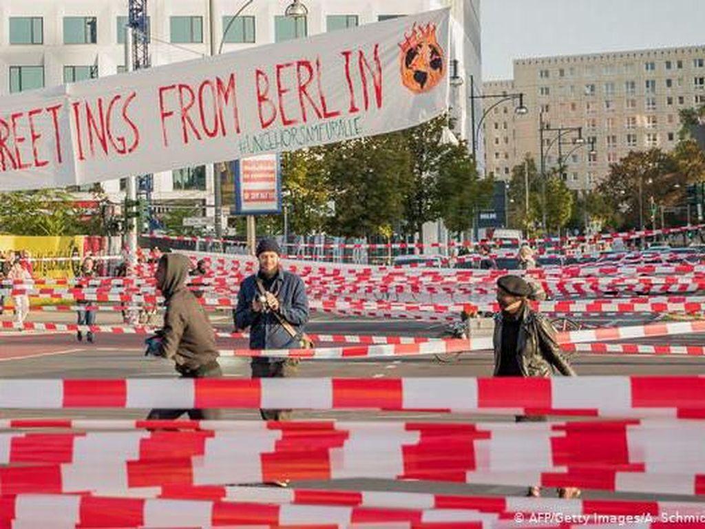 Ribuan Orang Unjuk Rasa Tuntut Perlindungan Iklim di Berbagai Kota Jerman