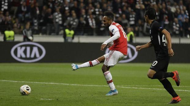 Lawan Frankfurt bisa jadi laga terakhir Unai Emery bersama Arsenal.