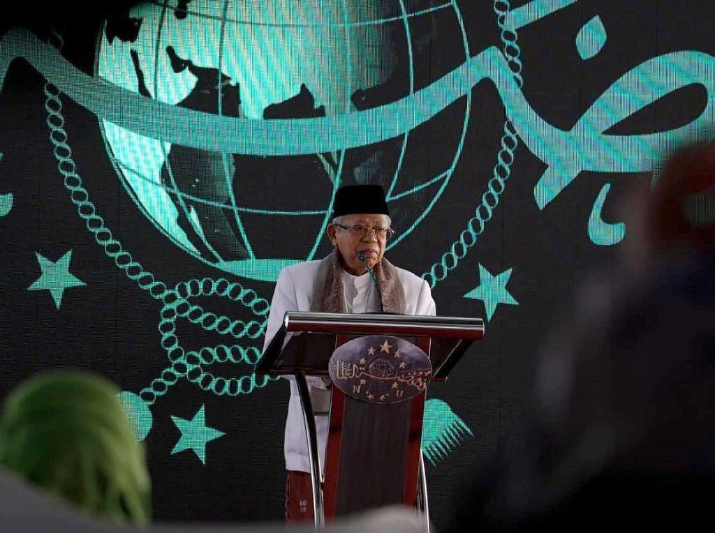Maruf Amin: Fatwa Haram MUI Nggak Cukup Atasi Karhutla