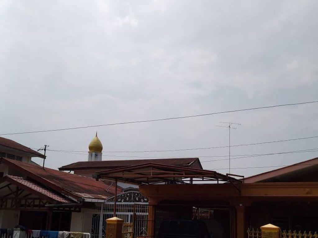 Karhutla di Riau Belum Padam, Kabut Asap Muncul di Padangsidimpuan