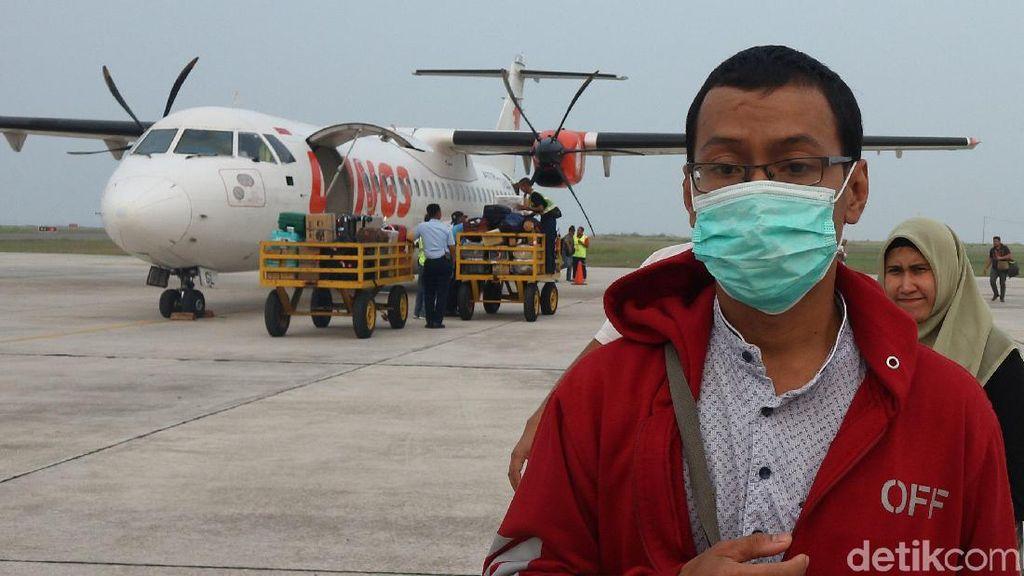 Kabut Asap Ganggu Penerbangan Bandara Ranai Natuna