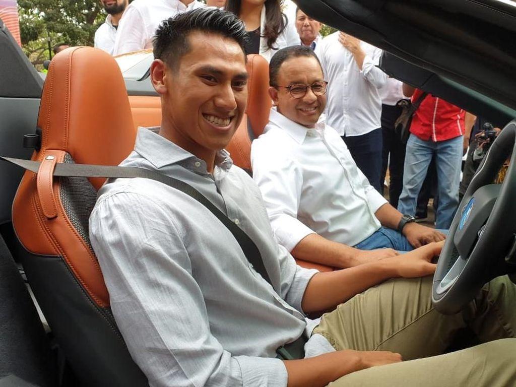 Diminta Wakili Indonesia di Formula E, Sean: Doakan Saja