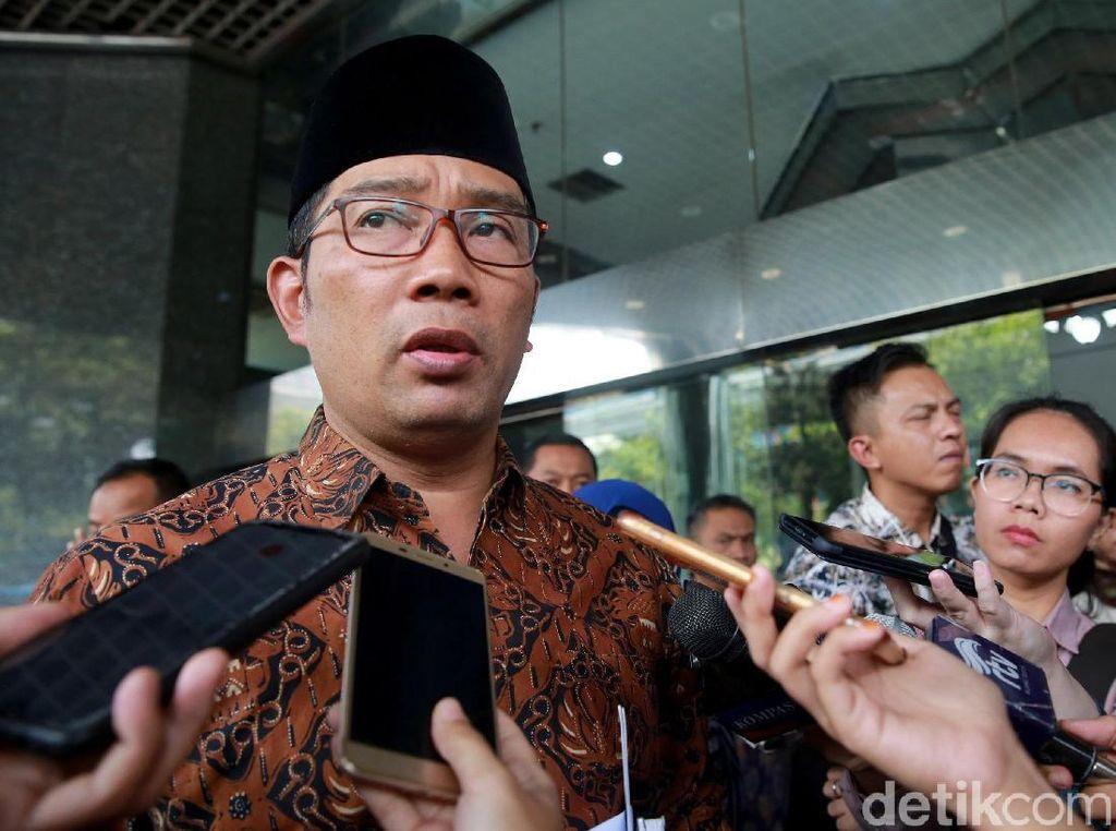 Ridwan Kamil soal Maju Pilpres 2024: Di 2022 Saja Nanyanya