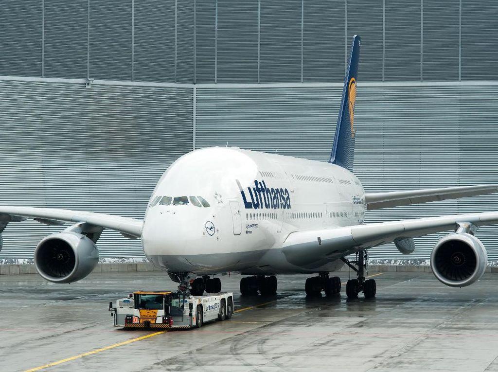 Uang Lufthansa Tergerus Rp 16 M Per Jam