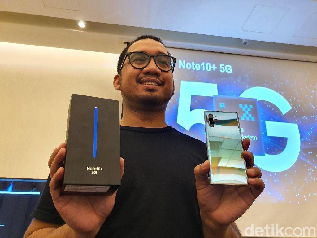 Samsung Jual 6,7 Juta Ponsel 5G di 2019