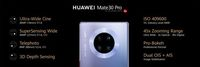 Mengenal Empat Kamera Belakang di Huawei Mate 30 Pro