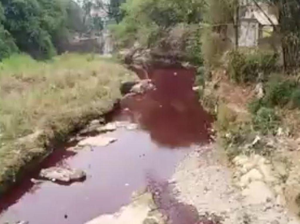 Pemkab Bogor Tegur PT GI Karena Buang Limbah ke Sungai Cileungsi