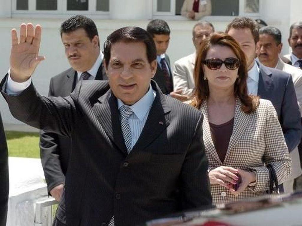 Mantan Presiden Tunisia Ben Ali Meninggal Dunia