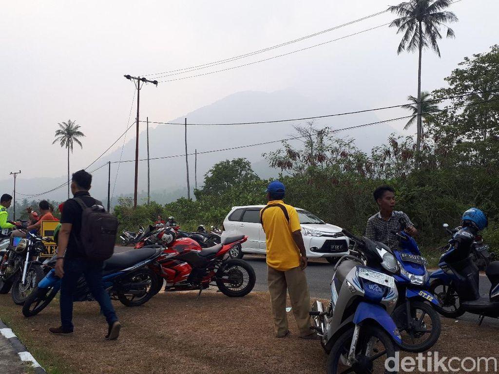 Kabut Asap Selimuti Pulau Natuna Kepri, Jadwal Penerbangan Terganggu