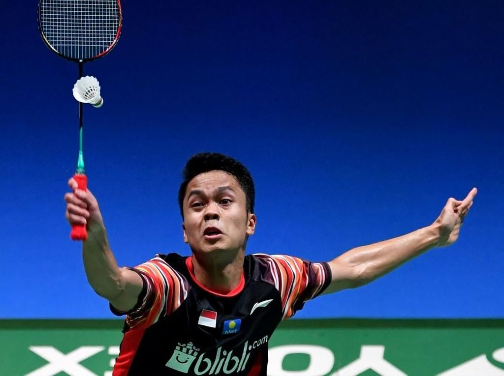 Babak Pertama French Open: Anthony Menang, Tommy Kalah