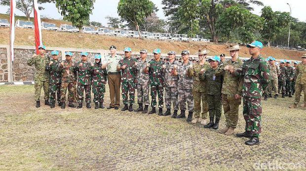 Selain dari 10 negara ASEAN, latihan diikuti 8 negara mitra