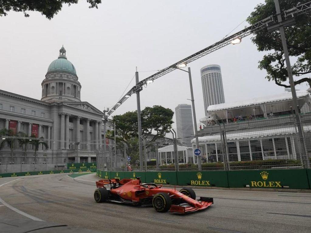 Seputar F1 GP Singapura yang Sempat Terancam Kabut Asap
