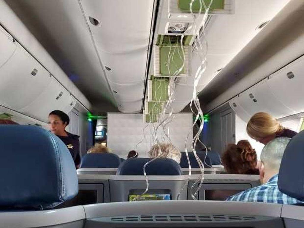 90 Detik Penuh Horor, Saat Pesawat Terjun Bebas 30.000 Kaki