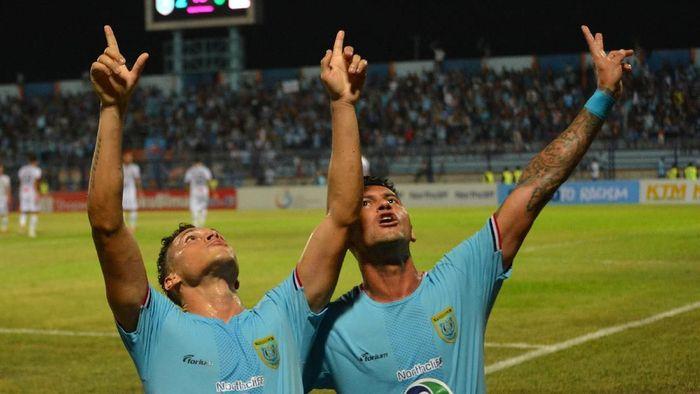 Persela Lamongan sudah dikonfirmasi mengenai pendundaan duel dengan Persija Jakarta di Liga 1. (Foto: Syaiful Arif/Antara)