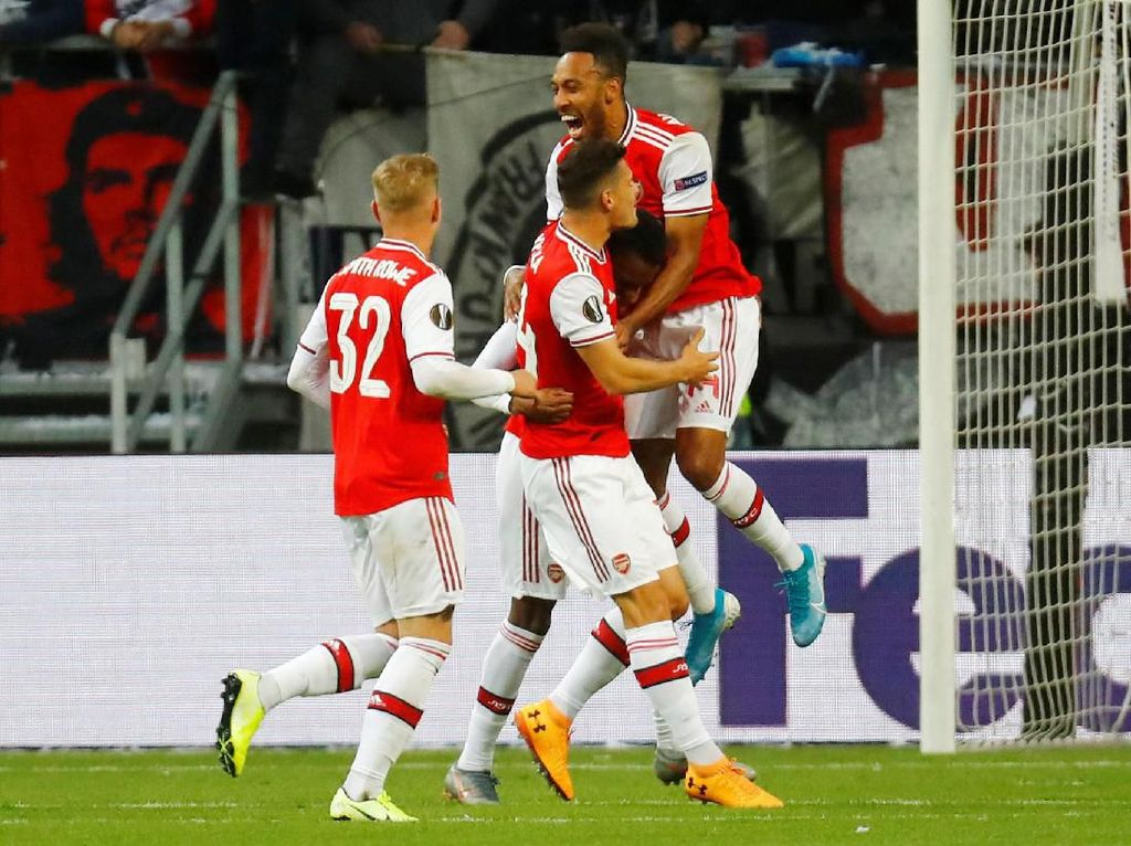 Frankfurt Vs Arsenal: The Gunners Unggul di Babak Pertama