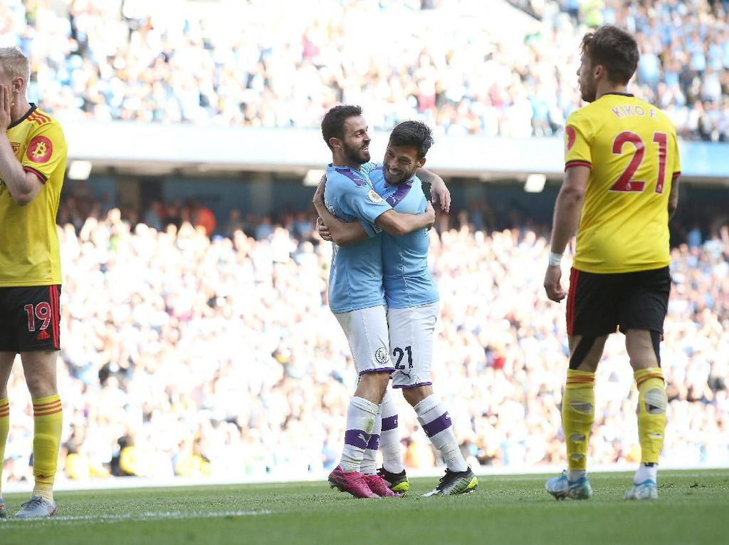 Man City Vs Watford: Bernardo Hat-trick, Citizens Pesta 8-0