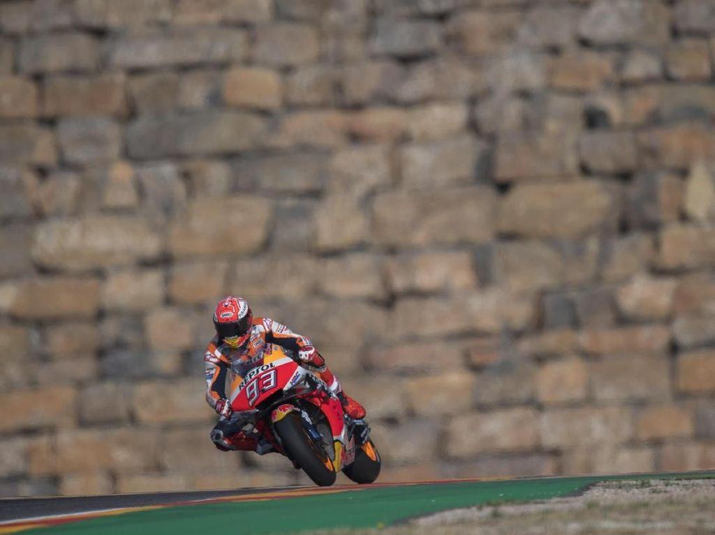 Marquez Pole Position di MotoGP Aragon 2019