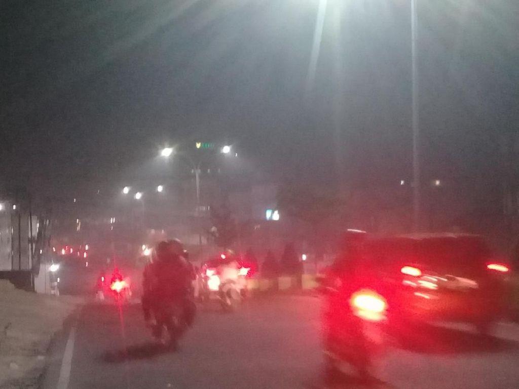 Kualitas Udara Kota Jambi Malam Hari Masuk Kategori Berbahaya