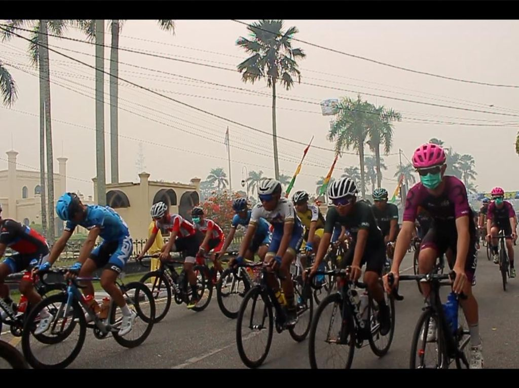 Kabut Asap Kian Pekat, Etape III Tour de Siak Dibatalkan