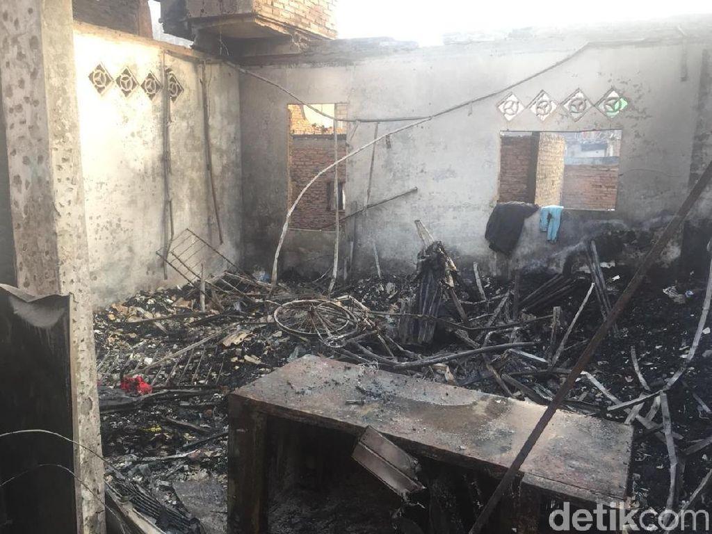 Kebakaran di Jatinegara Hanguskan 129 Rumah, Begini Penampakannya