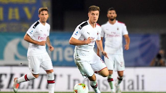 AC Milan akan berhadapan dengan Inter Milan. (Alessandro Sabattini/Getty Images)