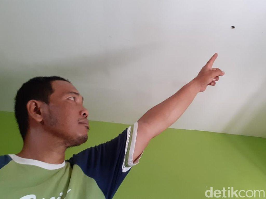 Ibu Hamil di Makassar Terserempet Peluru Nyasar Saat Tidur