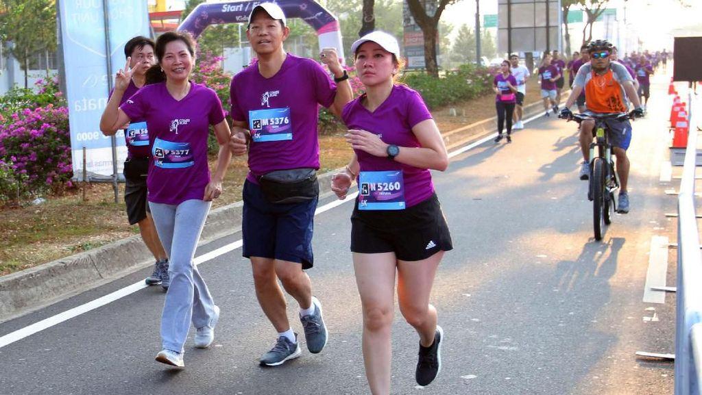 Kampanye Hidup Sehat dengan Berlari