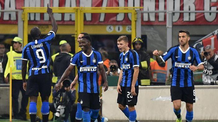 Marco Materazzi yakin Inter Milan bakal kalahkan Lazio di Guiseppe Meazza (Foto: Tullio M. Puglia/Getty Images)