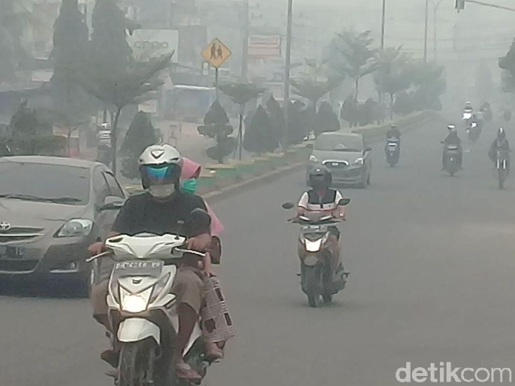 Pemerintah akan Lakukan Hujan Buatan Atasi Kabut Asap di Jambi