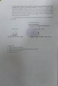 Ma'ruf Amin Pernah Surati DPR Minta RUU KUHP Segera Disahkan