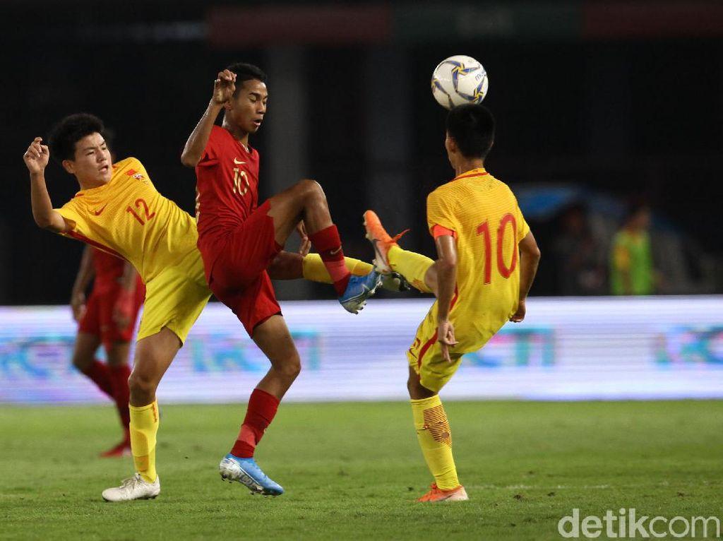 Tahan China, Timnas Indonesia U-16 Lolos ke Piala Asia 2020