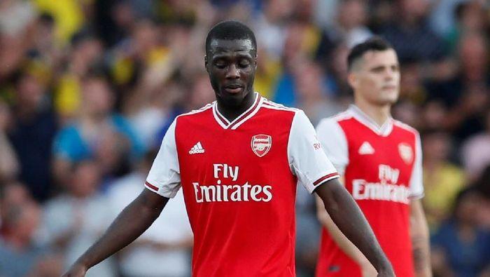 Nicolas Pepe diminta segera membuat gol untuk Arsenal (REUTERS/David Klein)