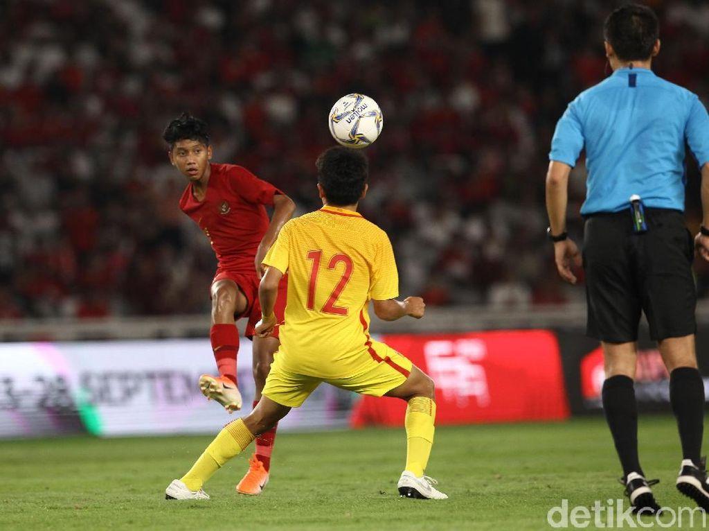 Kualifikasi Piala Asia U-16: Indonesia Vs China Berakhir 0-0