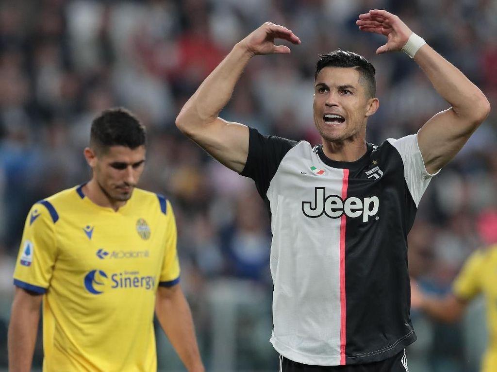 Juventus Susah Payah Kalahkan Verona, Ronaldo: Kami Kelelahan