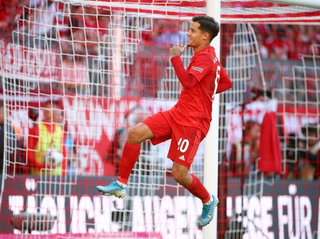 Bobol Gawang Cologne, Coutinho Masuk Daftar Langka Pemain di Eropa