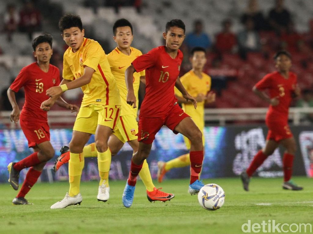 Babak I Kualifikasi Piala Asia U-16: Indonesia Vs China Tanpa Gol